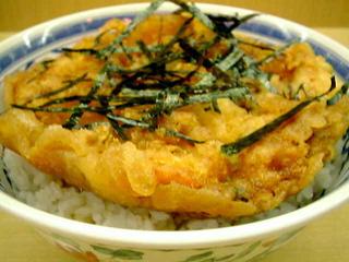 海鮮かき揚げ丼(ご飯大盛り)