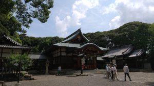 成海神社月次祭
