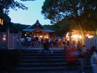 成海神社 夏越祭 茅の輪くぐり神事