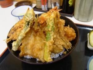 天房の上天丼-1600円