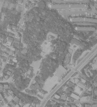 昭和60年の航空写真